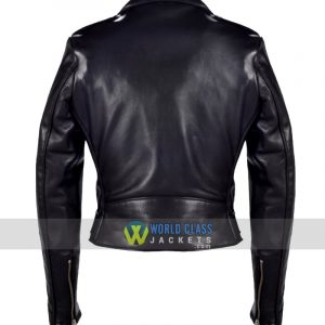Buy Women Cropped Perfecto Leather Jacket Online