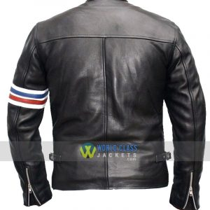 Buy Captain America's Easy Rider Black Leather Jacket Online