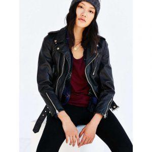 Ex Boyfriend Urban Outfitters Schott Black Leather Jacket