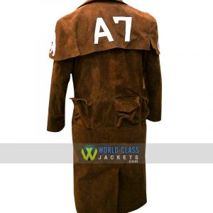 Buy Fallout Vegas A7 Men Veteran Ranger Armor NCR Gaming Leather Coat