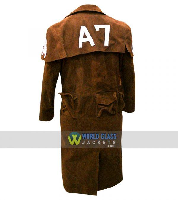 Buy Fallout Vegas A7 Men Veteran Ranger Armor NCR Gaming Leather Coat