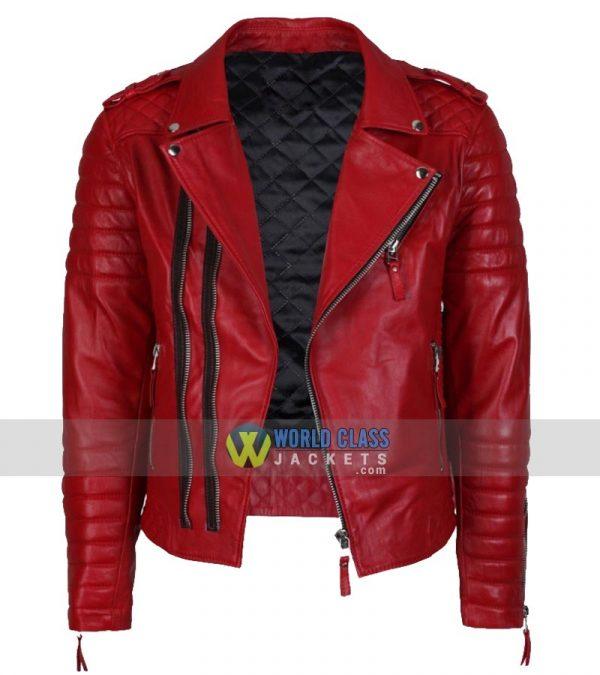 Buy Men's Real Biker New Vintage Slim Fit Leather Jacket