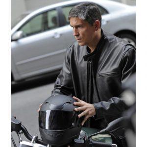 Person Of Interest Jim Caviezel John Reese Black Jacket
