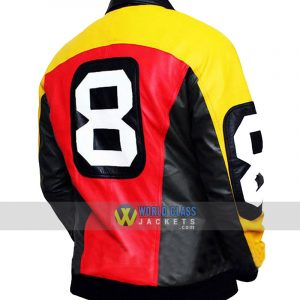 Buy 8 Ball Pool Where MI Bomber Real Leather Jacket
