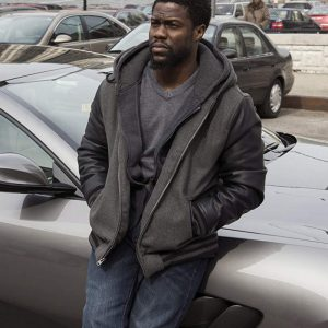 Get The Upside Kevin Hart Dell Scott Grey Hoodie on Sale