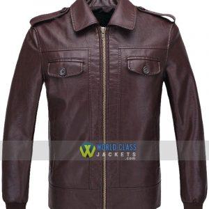 Captain America Steve Rogers The Avengers Brown Jacket