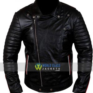 Dean Blue Valentine Ryan Gosling Black Leather Jacket