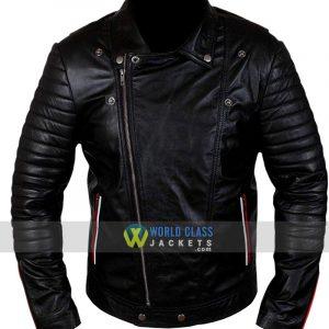 Dean Blue Valentine Ryan Gosling Black Leather Jacket