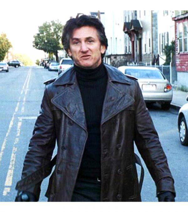 Mystic River Sean Penn Black Coat