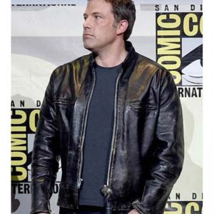 Buy & Save $40 on Ben Affleck Black Leather Jacket