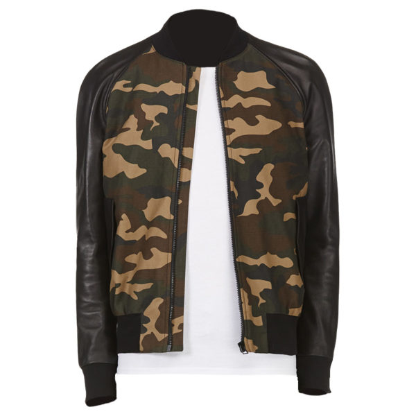 Buy This Bomber Khaki Camo Jacket at $40