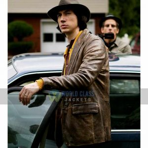 Get this Adam Driver Real Leather Jacket at 31%Off Sale
