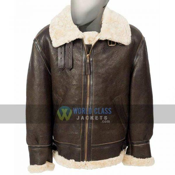 Get Men's Women's B3 Shearling Bomber Jacket at $70 off Price